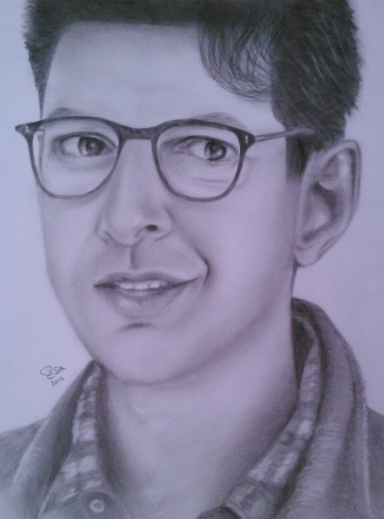 Jeff Goldblum par Isa44